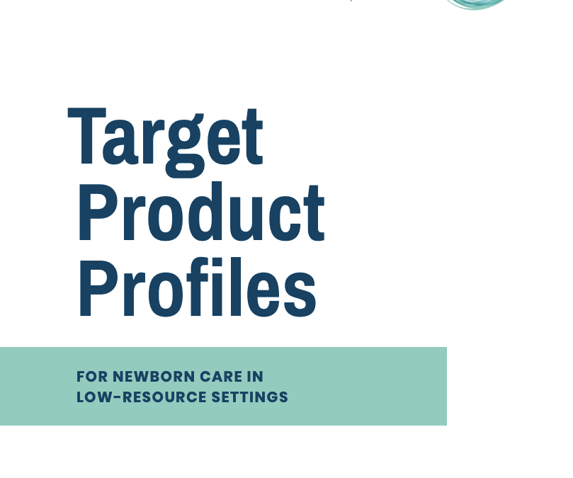 Target Product Profiles