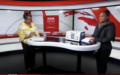 "Dr. Nahya Salim talks on ""NEST360 and its vision"" – BBC Swahili"